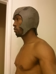 Malik with Helmet